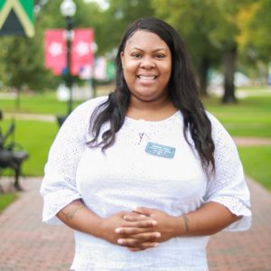 Rhondra, location manager