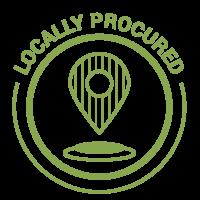Locally Procured Logo